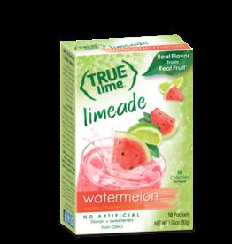 True Citrus True Lime Drink Mix, Watermelon Aqua Fresca - 10 pk