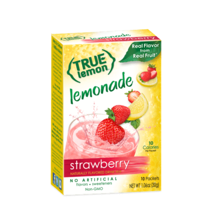 True Citrus True Strawberry Lemonade - 10 Packets