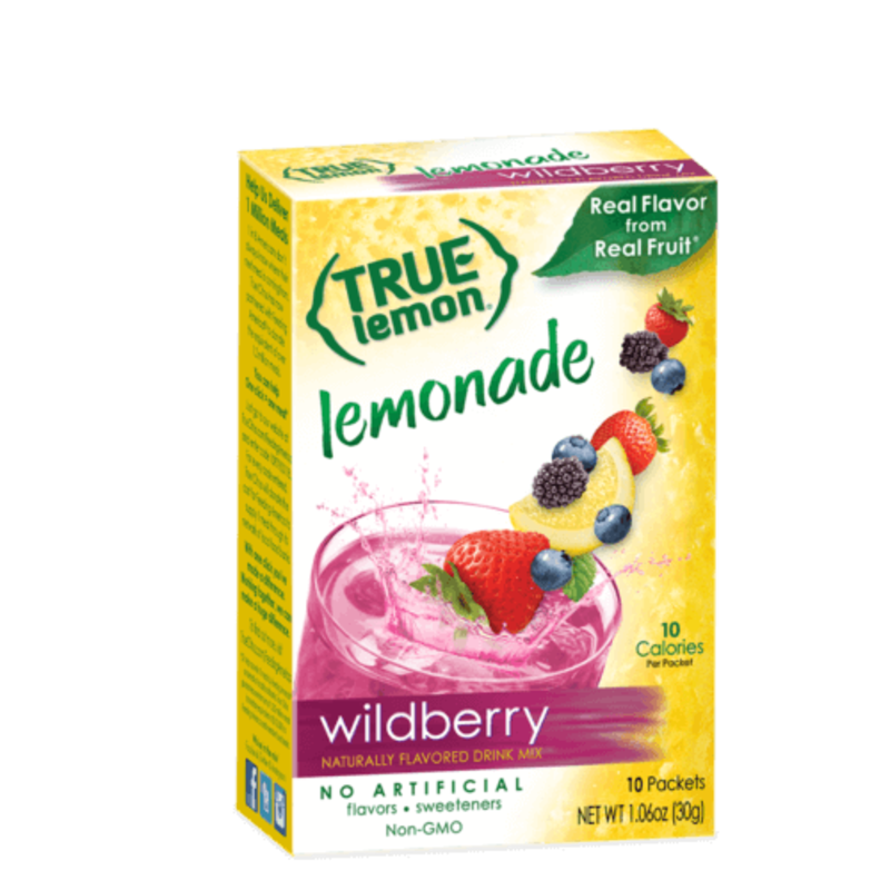 True Citrus True Wildberry Lemonade - 10 Packets