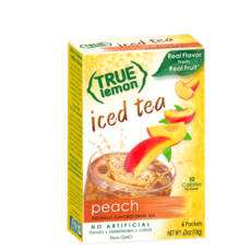 True Citrus True Lemon Peach Iced Tea (6-count)