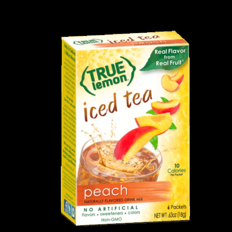True Citrus True Lemon Peach Iced Tea (6-count)