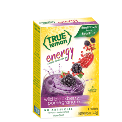 True Citrus True Lemon Energy Wild Blackberry Pomegranate (6-count)