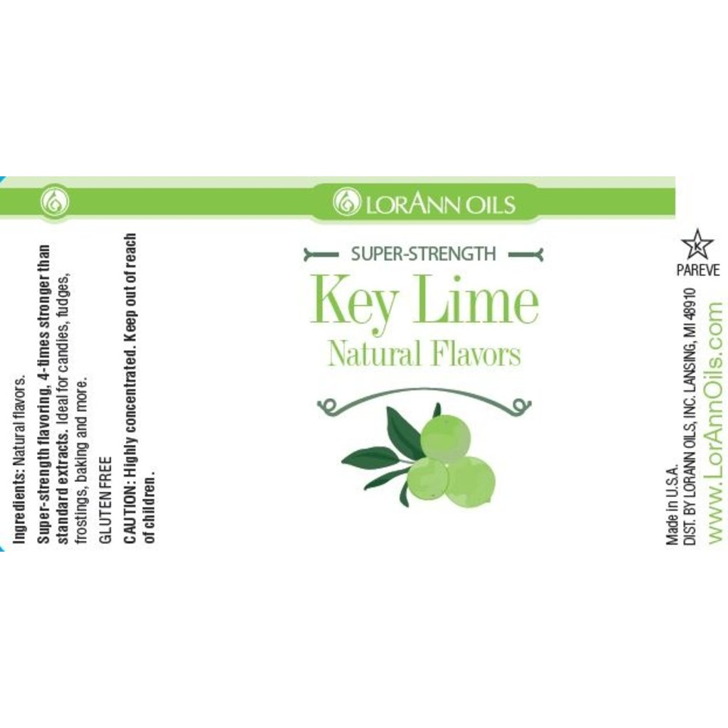 LorAnn LorAnn Gourmet Flavourings - Key Lime