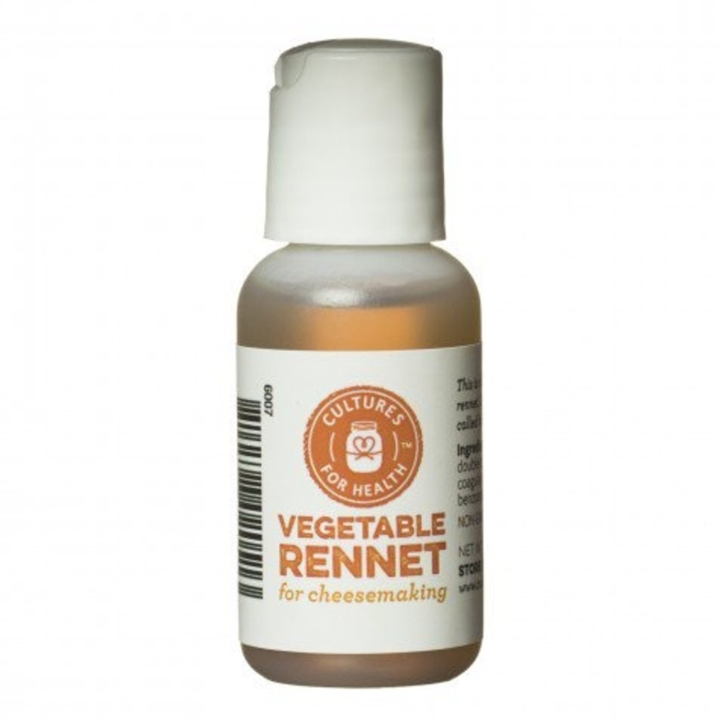 Cultures for Health Liquid Vegetable Rennet - 1 oz.