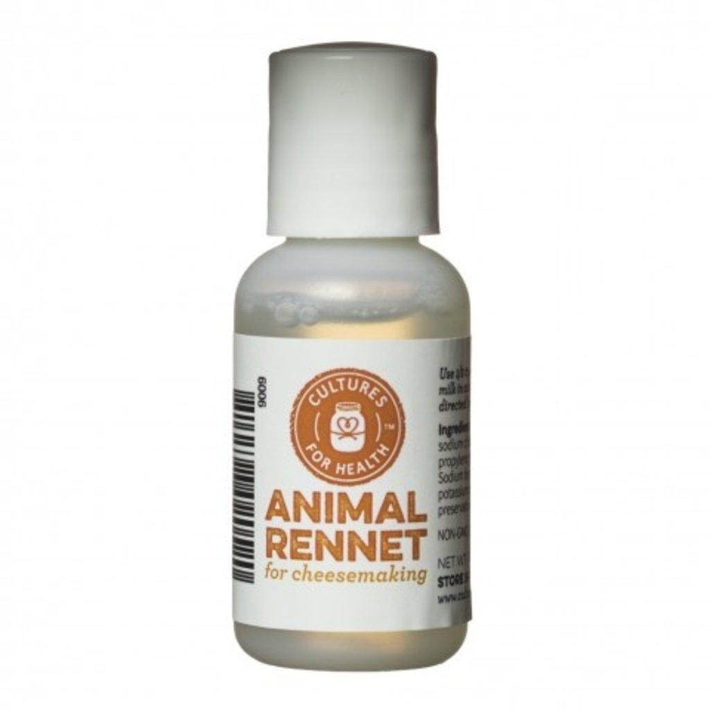 Cultures for Health Liquid Animal Rennet - 1 oz.
