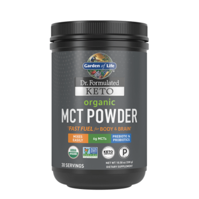 Garden of Life Keto Organic MCT Oil Powder