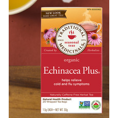 Traditional Medicinals Traditional Medicinals Tea - Echinacea Plus Organic Tea (20 bags)