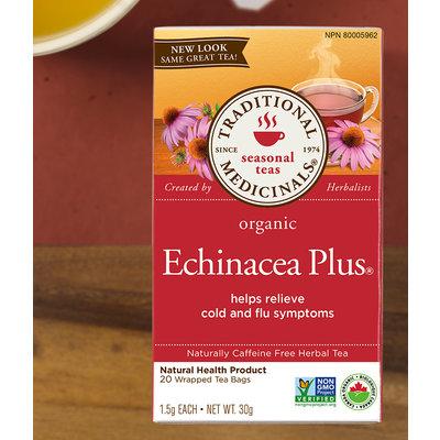 Traditional Medicinals Traditional Medicinals Tea - Echinacea Plus Organic Tea (20 bags)