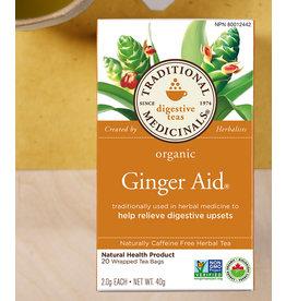 Traditional Medicinals Traditional Medicinals Tea - Ginger Aid Tea (20 bags)