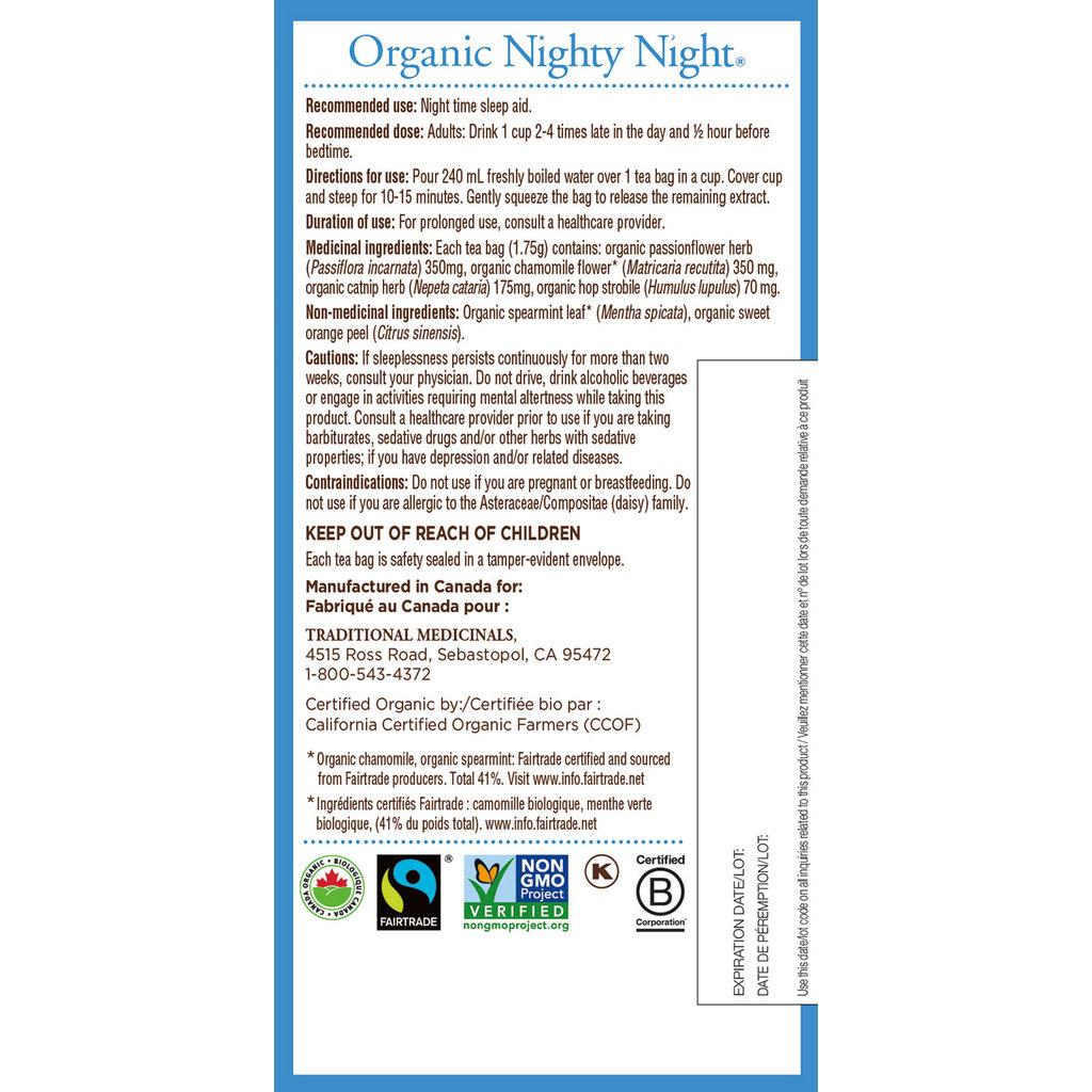 Traditional Medicinals Traditional Medicinals Tea - Nighty Night Tea (20 bags)