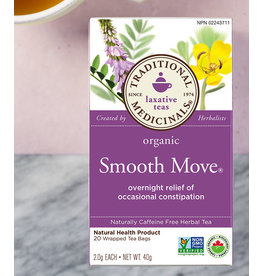 Traditional Medicinals Traditional Medicinals Tea - Smooth Move (20 bags)