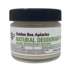 Golden Bee Apiaries Golden Bee Natural Deodorant Balm