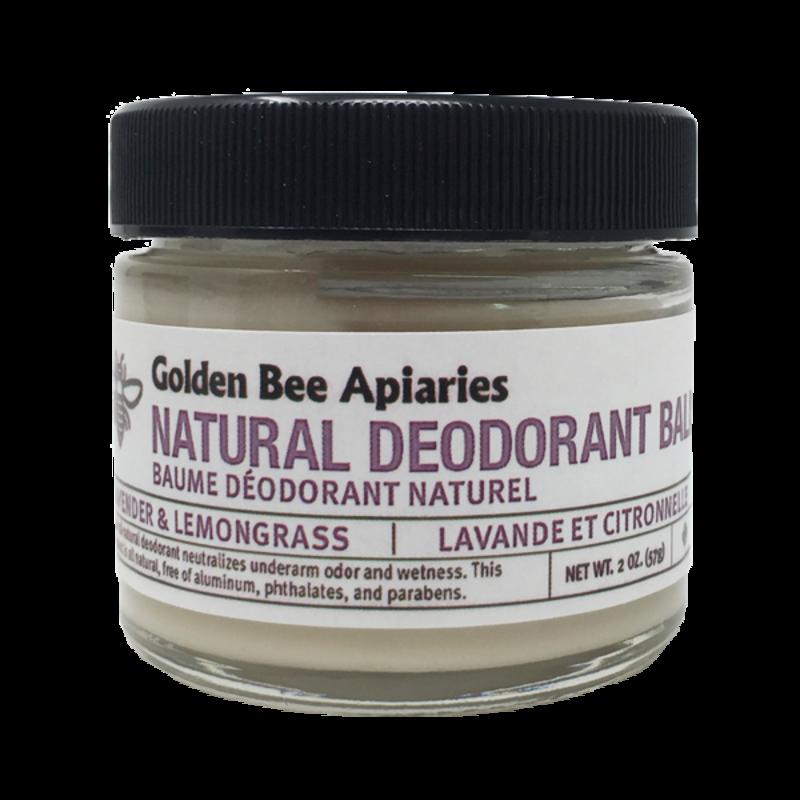 Golden Bee Apiaries Golden Bee Natural Deodorant Balm