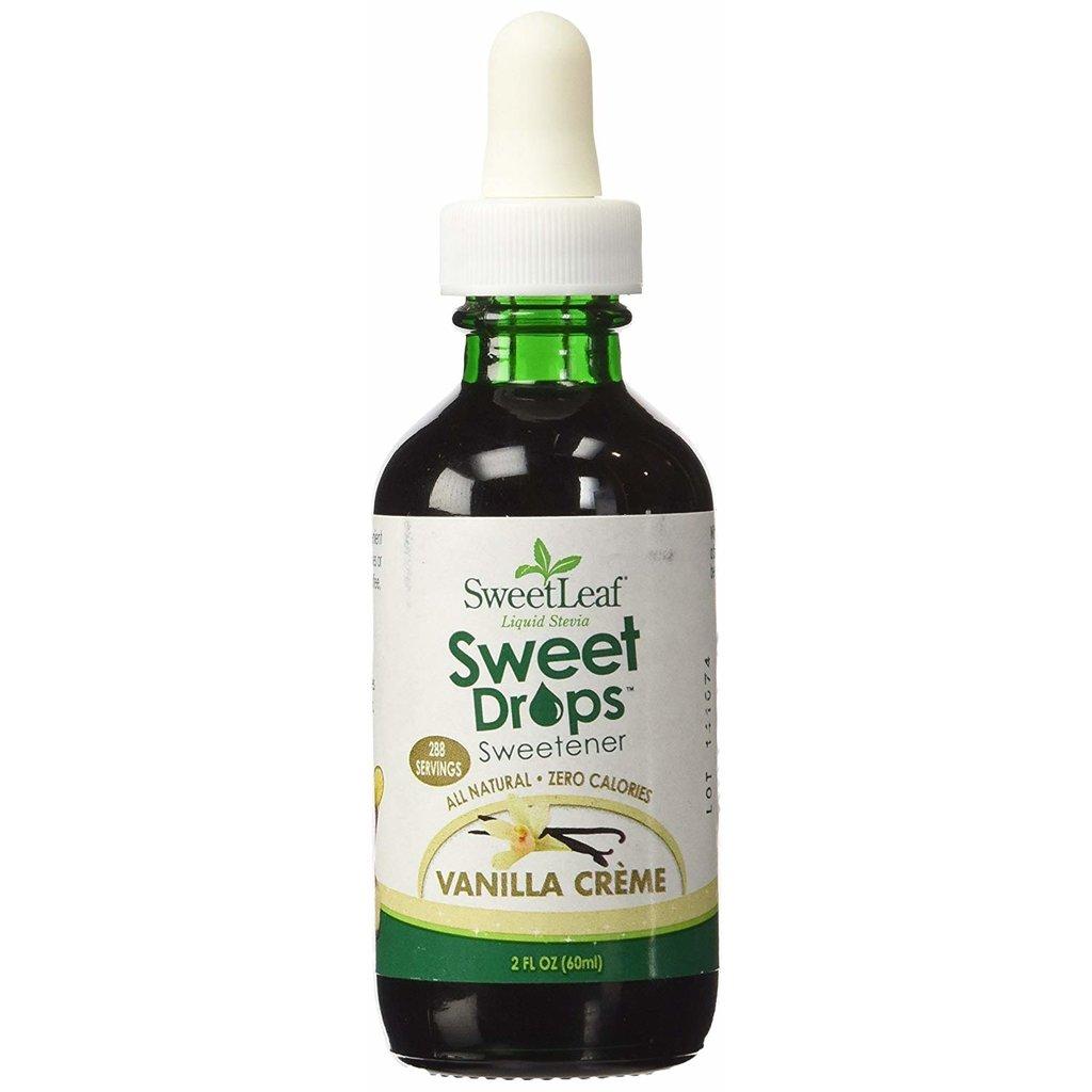 SweetLeaf Sweet Leaf Stevia - Vanilla Creme (60 ml)