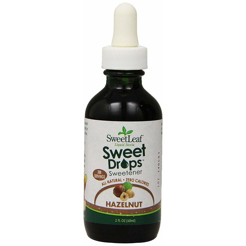SweetLeaf Sweet Leaf Stevia - Hazelnut (60 ml)