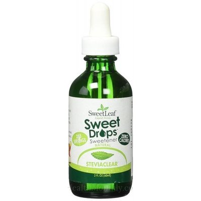 SweetLeaf Sweet Leaf Liquid Stevia Drops (60 mL)