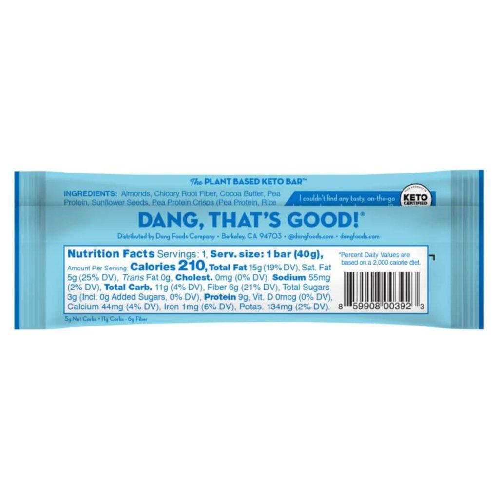 Dang Foods Dang Keto Bar - Almond Vanilla