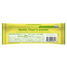 Dang Foods Dang Keto Bar - Lemon Matcha