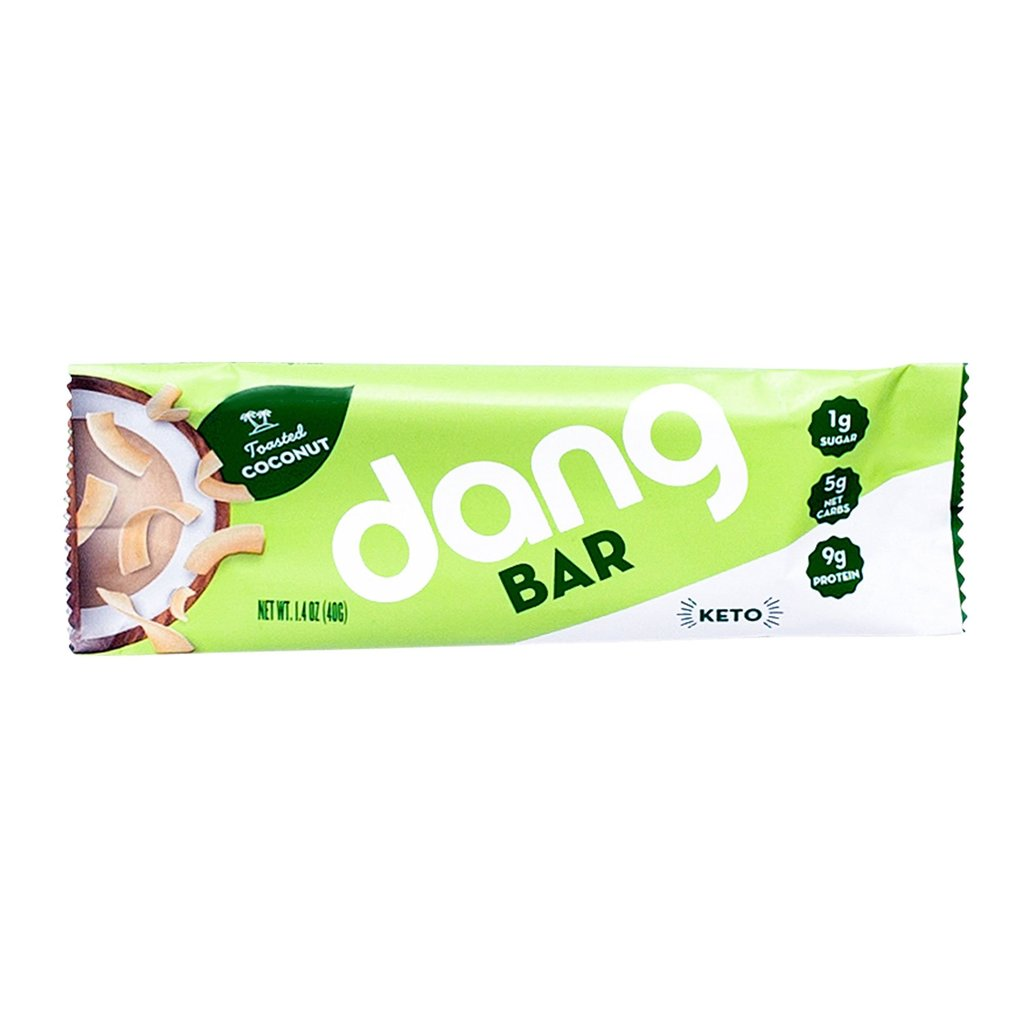 Dang Foods Dang Keto Bar - Toasted Coconut