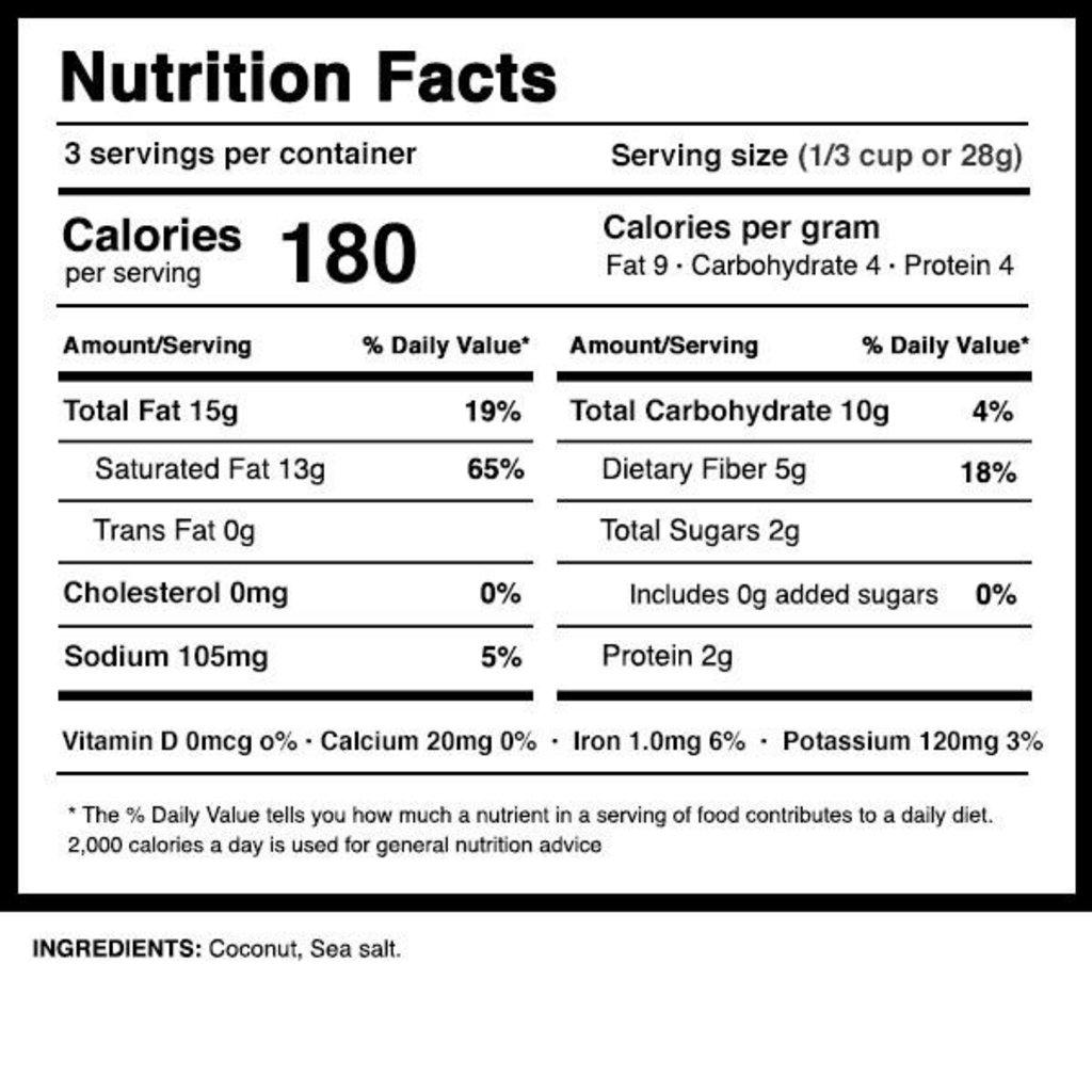 Dang Foods Dang Coconut Chips - Lightly Salted