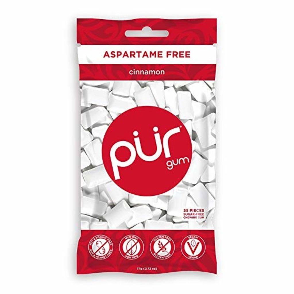 Pur PUR Cinnamon Gum Bag 77g (55pcs)