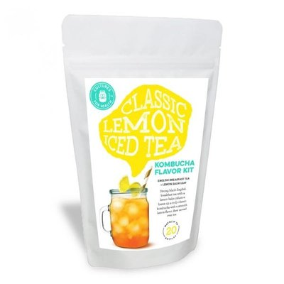 Cultures for Health Classic Lemon Iced Tea Kombucha Flavour Kit