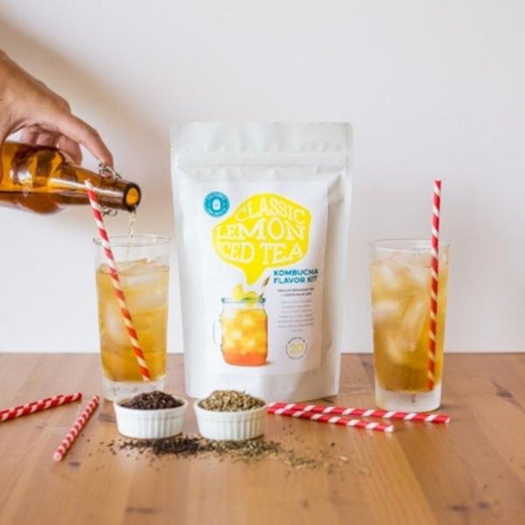 Cultures for Health Classic Lemon Iced Tea Kombucha Flavour Kit