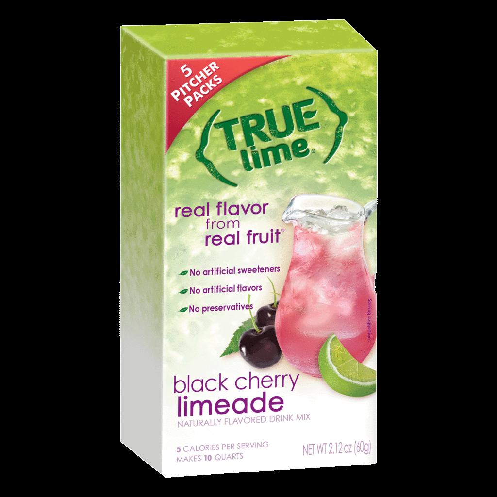 True Citrus Black Cherry Limeade - 2-Qt. Pitcher Size