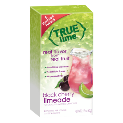 True Citrus Black Cherry Limeade - 2-Qt. Pitcher Size