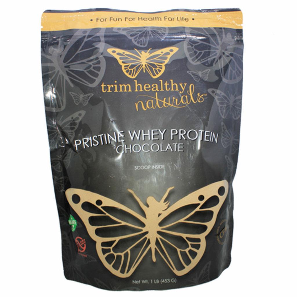 Trim Healthy Mama Trim Healthy Mama Pristine Whey Powder, Chocolate (1 lb. bag)