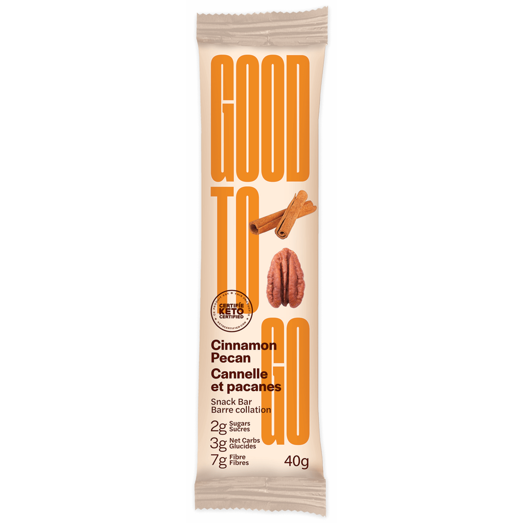 Good to Go Good to Go Keto Bar - Cinnamon Pecan