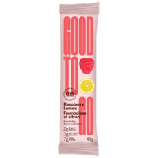 Good to Go Keto Bar - Raspberry Lemon