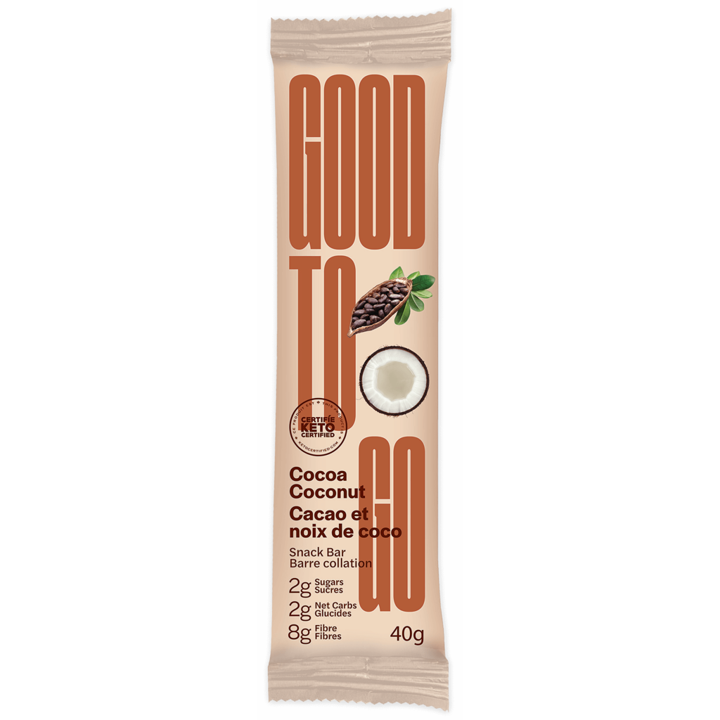 Good to Go Keto Bar - Cocoa Coconut