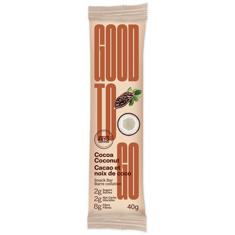 Good to Go Keto Bar - Cocoa Coconut
