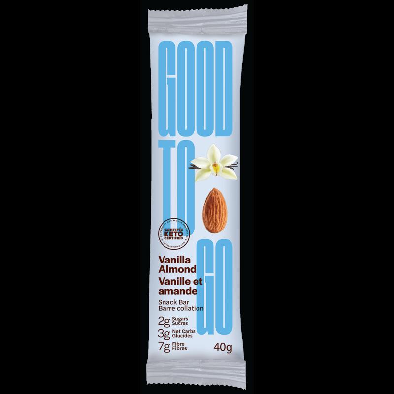 Good to Go Keto Bar - Vanilla Almond