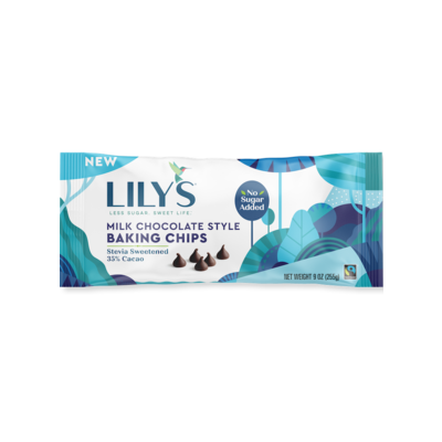 Lily's Sweets Lily's Milk Chocolate Baking Chips 9oz