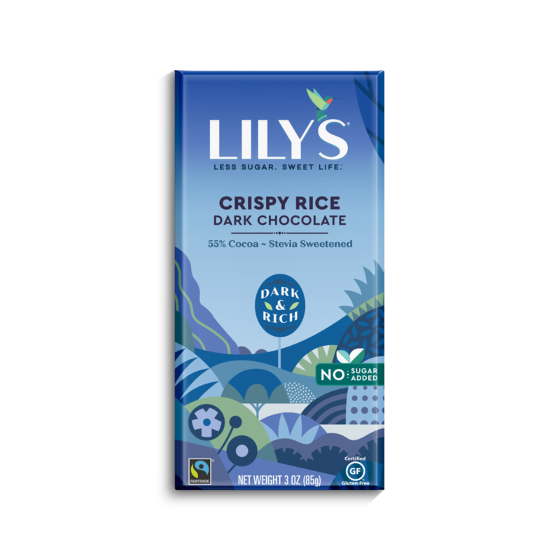 Lily's Sweets Lily's Bar - Crispy Rice 55% Cocoa