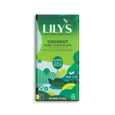 Lily's Sweets Lily's Bar - Coconut Dark Chocolate- 55% Cocoa