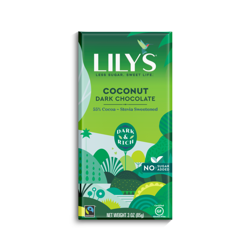 Lily's Sweets Lily's Bar - Coconut - 55% Cocoa