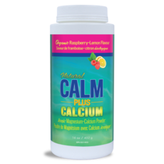 Natural Calm Natural Calm Magnesium with Calcium - Raspberry Lemon (16 oz.)