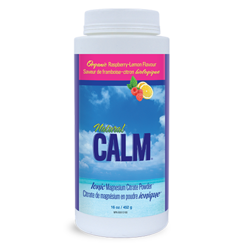 Natural Calm Natural Calm Magnesium - Raspberry Lemon (16 oz.)