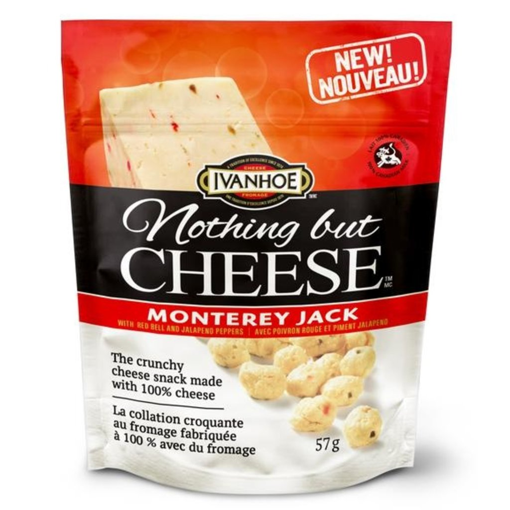 Ivanhoe Cheese Nothing but Cheese - Monterey Jack (57 g)