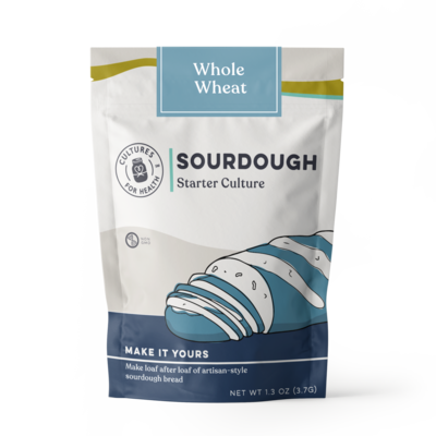 Cultures for Health Whole Wheat Sourdough Starter