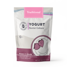 Cultures for Health Traditional Flavour Yogurt Starter Culture - 4 Pk