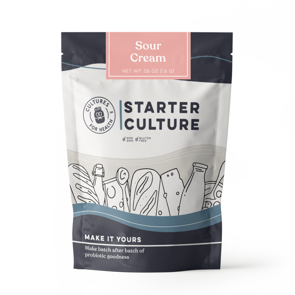 Cultures for Health Sour Cream Starter Culture - 4 Pk