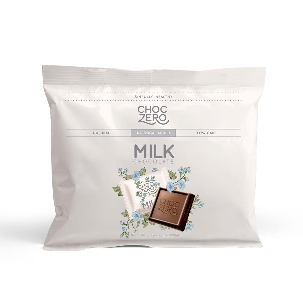 ChocZero Milk Chocolate Squares (3.5 oz.)