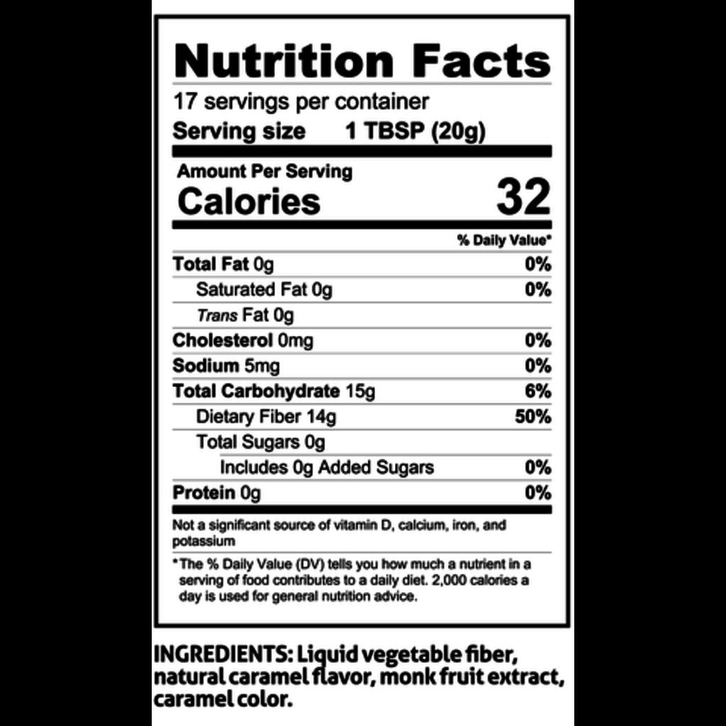 ChocZero Sugar-Free Honest Syrup, Caramel