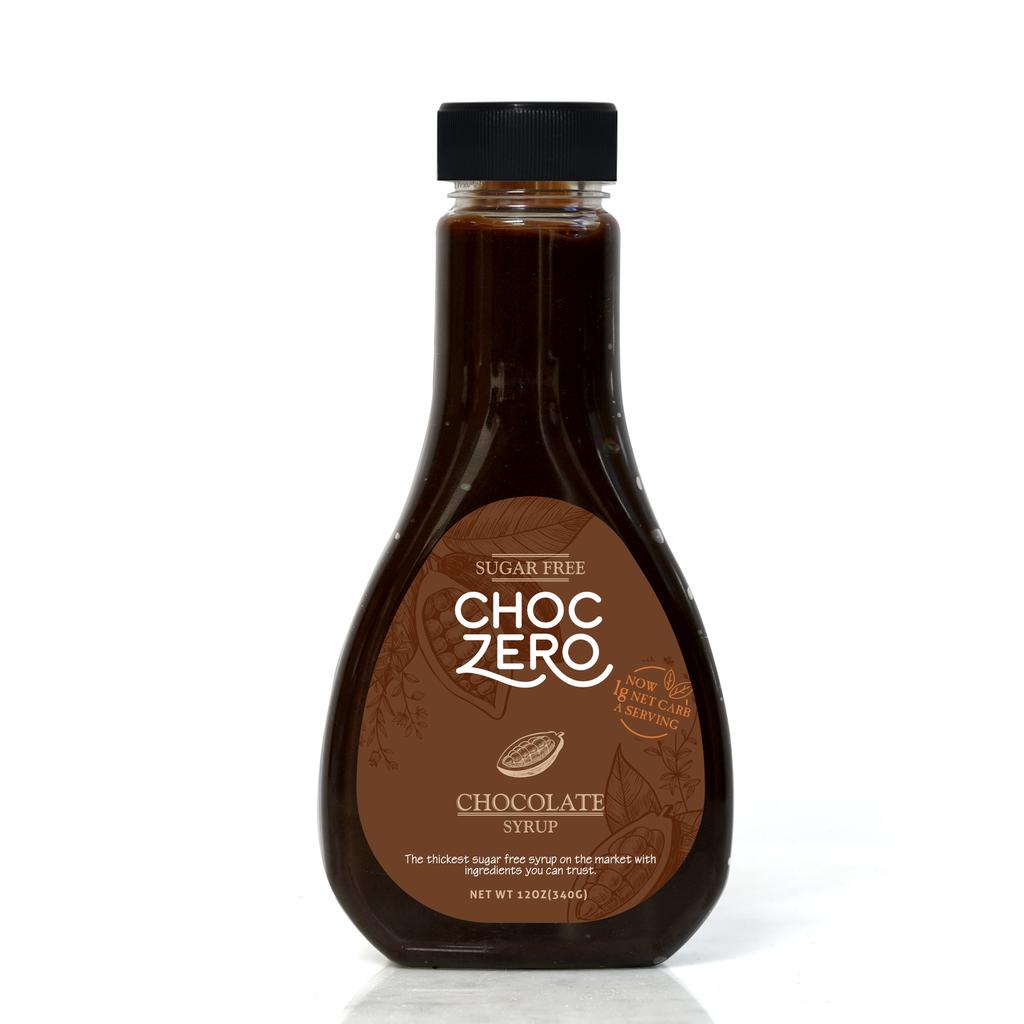 ChocZero Sugar-Free Honest Syrup, Chocolate