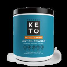 Perfect Keto - MCT Oil Powder, Salted Caramel (300 g)