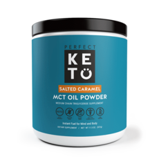 Perfect Keto Perfect Keto - MCT Oil Powder, Salted Caramel (300 g)